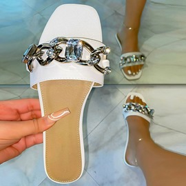 Ericdress Sequin Flat With Slip-On Women's Casual Slippers