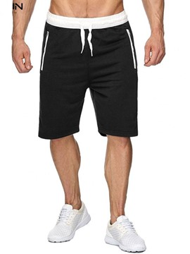 Ericdress Thin Lace-Up Straight Lace-Up Men's Casual Pants