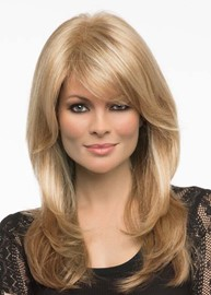 Ericdress Sexy Women's Long Length Light Brown Blonde Body Wavy Synthetic Hair Capless Wigs 24Inch