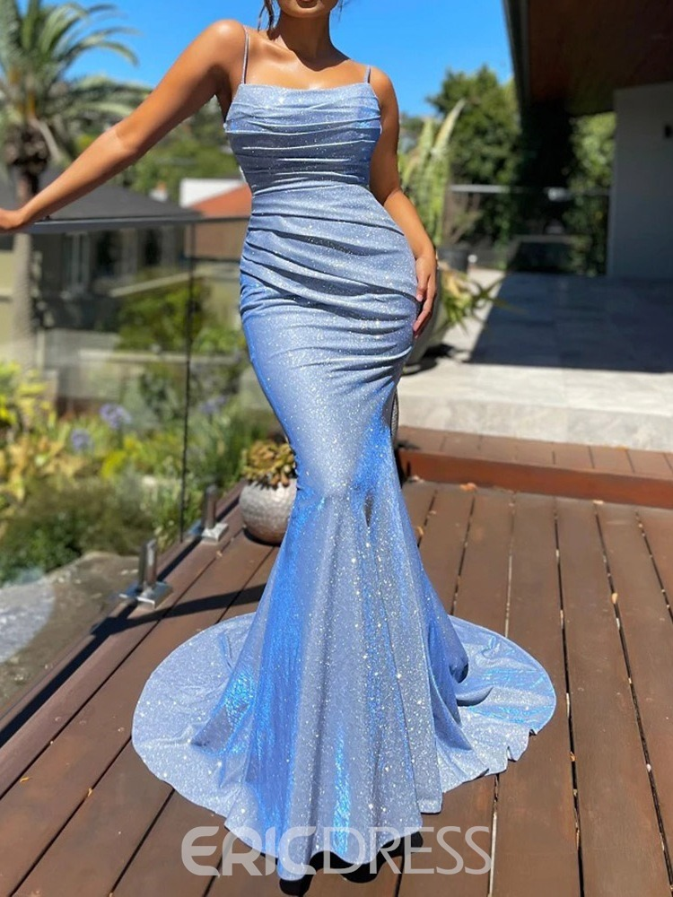 Ericdress Backless Floor-Length Square Neck Pullover Fashion Bodycon Dress