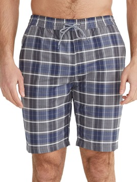 Ericdress Plaid Pocket Lace-Up Men's Casual Shorts