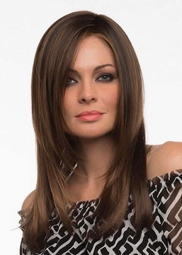 Ericdress Natural Looking Women's Long Bob Hairstyles Straight Synthetic Hair Capless Wigs 22Inch