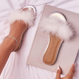 Ericdress 3D Flat With Slip-On Sweet Women's Slippers