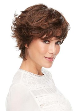 Ericdress Fashion Women's Short Shaggy Layered Hairstyle Wavy Synthetic Hair Capless Wigs 12Inch