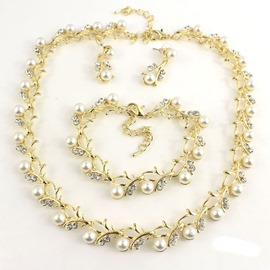 Ericdress Pearl Inlaid Sweet Anniversary Jewelry Sets