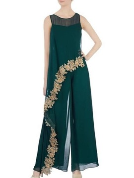 Ericdress A-Line Ankle-Length 3/4 Length Sleeves Scoop Evening Dress 2020
