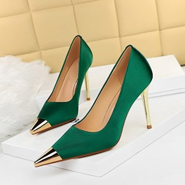 Ericdress Pointed Toe Stiletto Heel Sequin Banquet Thin Shoes