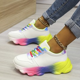 Ericdress Low-Cut Upper Lace-Up Closed Toe Outdoor Sneakers