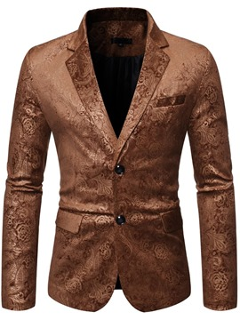 Ericdress Single-Breasted Fashion Notched Lapel Leisure Blazer