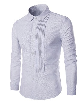 Ericdress Lapel Button OL Spring Single-Breasted Shirt