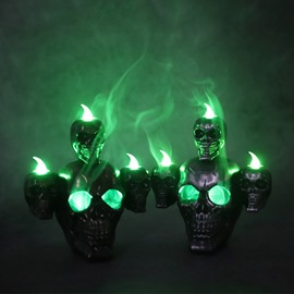 Halloween Horror Haunted House Decoration Holiday Lights Candle