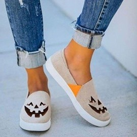 Ericdress Halloween Flat With Round Toe Slip-On Western Thin Shoes