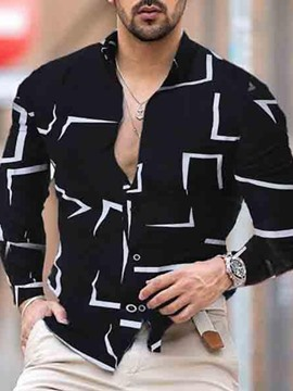Ericdress Lapel Button Fashion Single-Breasted Slim Shirt
