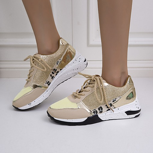 Ericdress Thread Round Toe Lace-Up Korean Sneakers