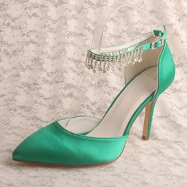 Ericdress Buckle Stiletto Heel Pointed Toe High Heel (5-8cm) Thin Shoes