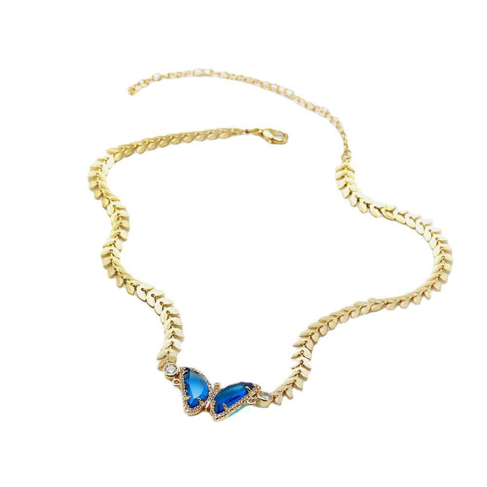 Ericdress Bowknot E-Plating Female Necklaces