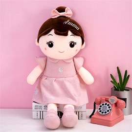 Little Girl Plush Toy Doll Soft Down Cotton Doll Gift