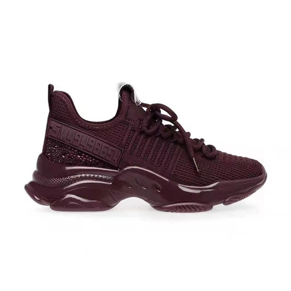 Ericdress Round Toe Lace-Up Lace-Up Outdoor Sneakers