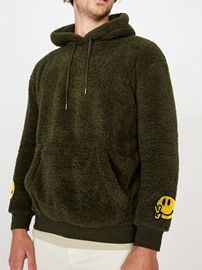 Ericdress Pullover Pocket Casual Straight Hoodies