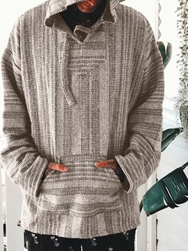 Ericdress Pocket Pullover Casual Straight Hoodies