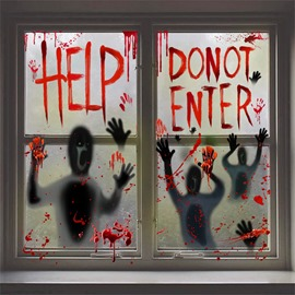Halloween Horror Wall Stickers Decorations