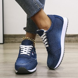 Ericdress Lace-Up Round Toe Lace-Up Outdoor Sneakers