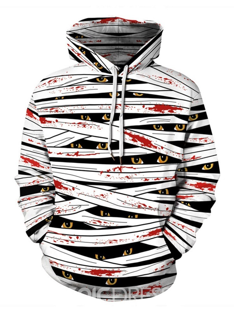 Ericdress Pullover Print Pullover Casual Hoodies