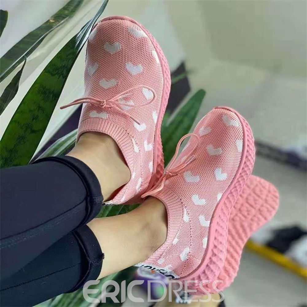 Ericdress Slip-On Round Toe Lace-Up Western Thin Shoes