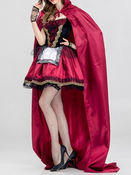 Ericdress Sweet Color Block Lace Spring Classic Halloween Costumes