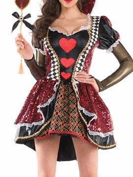 Ericdress Fashion Lace Color Block Classic Halloween Fall Costumes