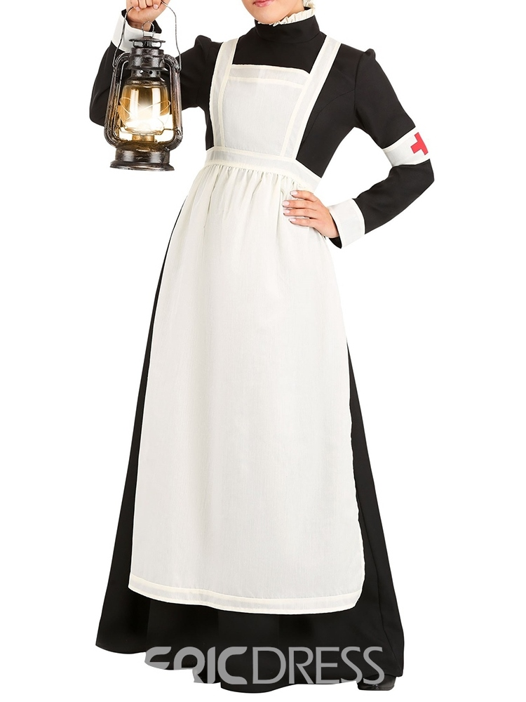 Ericdress Long Sleeve Western Color Block Profession Fall Costumes