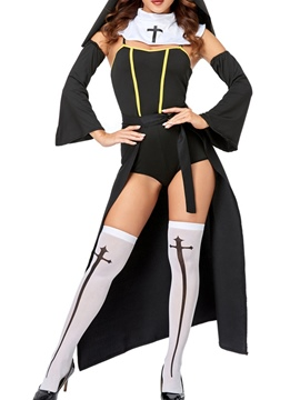 Ericdress Western Color Block Fall Fashion Halloween Costumes