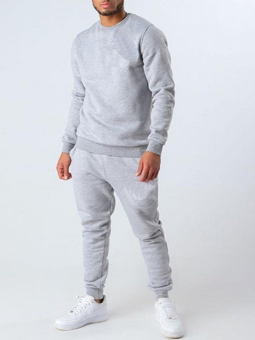 Ericdress Hoodie Sports Plain Fall Outfit