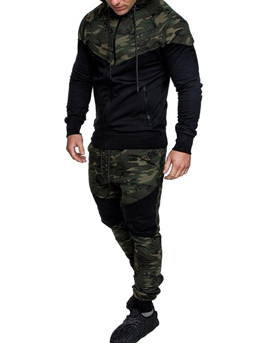 Ericdress Sports Camouflage Pants Fall Outfit