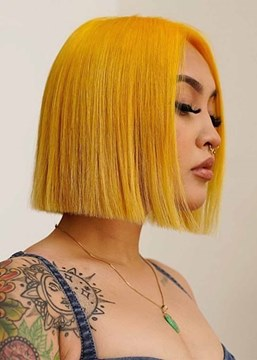 Ericdress Sexy Women's Short Bob Hairstyles Straight Colored Bob Style Synthetic Hair Capless Wigs 12Inch