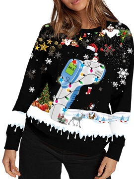 Ericdress Christmas Long Sleeve Western Patchwork Holiday Fall Costumes
