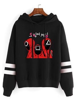 Ericdress Pullover Print Pullover Fall Hoodies