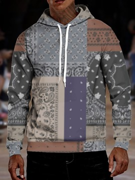 Ericdress Print Pullover Pullover Hoodies