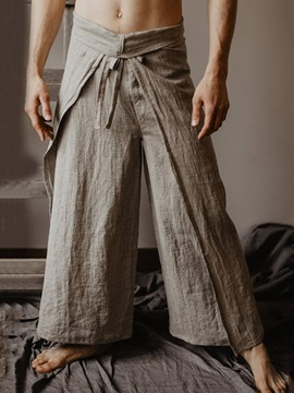 Ericdress Casual Straight Plain Casual Summer Pants