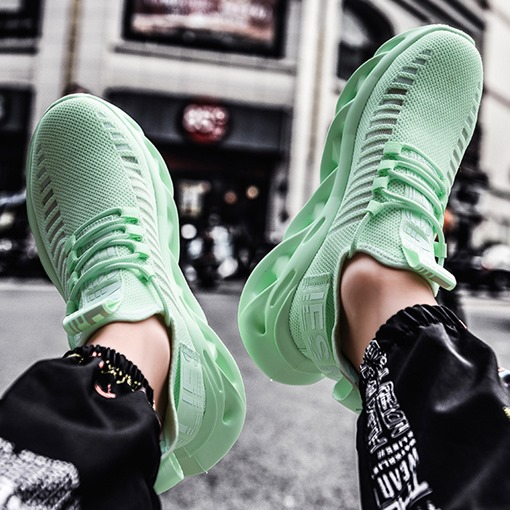 Ericdress Sports Low-Cut Upper Lace-Up Mesh Sneakers