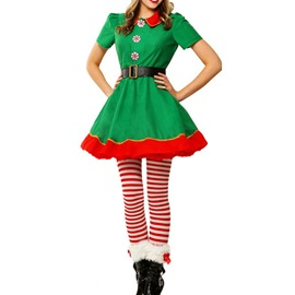 Ericdress Christmas Dress and Pants Two Piece Sets Parent-child Outfit