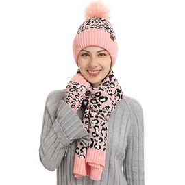 Ericdress Sweet Knitted Hat Winter Color Block Hats