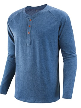 Ericdress Round Neck Casual Pullover Slim T-shirt