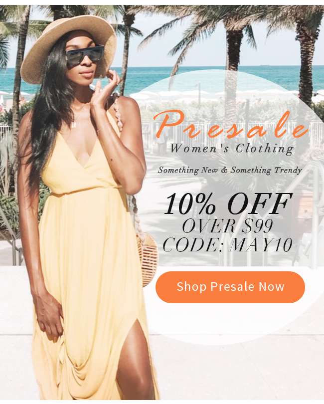 Women's Clothing Presale
